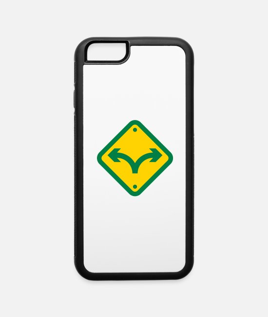 Uncertain iPhone Cases - I Used To Be Indecisive. Now I'm Not So Sure. - iPhone 6 Case white/black
