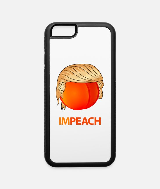 Funny Trump iPhone Cases - Funny Trump Impeach Gift - iPhone 6 Case white/black