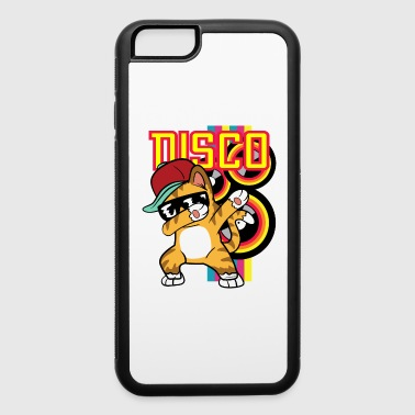 Retro Vintage Style Dabbing Dab Cat Rapper Hip Hop - iPhone 6/6s Rubber Case