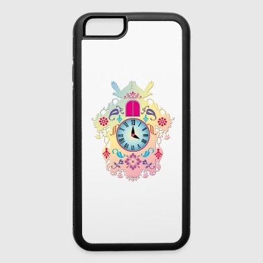 decorative colorful cuckoo clock - iPhone 6/6s Rubber Case