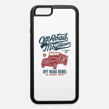 Jeep Off Road Jeep - iPhone 6/6s Rubber Case
