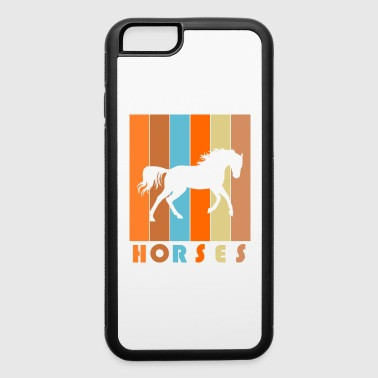 Horse animal vintage horses love - iPhone 6/6s Rubber Case