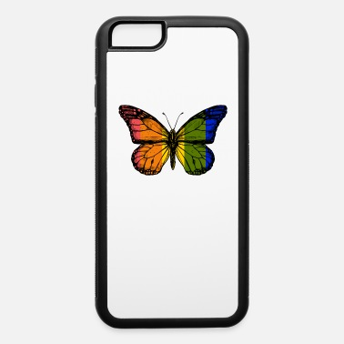 Gay Rights Rainbow Butterfly - iPhone 6 Case