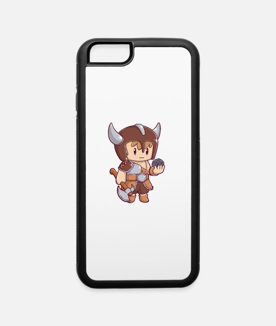 LARP iPhone Cases - Chibi Barbarian - iPhone 6 Case white/black