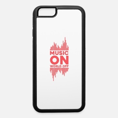 Music Genre Music on World Off | Bars | Equalizer | Vector - iPhone 6 Case