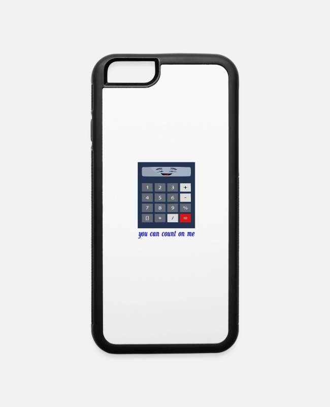 Maths iPhone Cases - you can count on me - iPhone 6 Case white/black