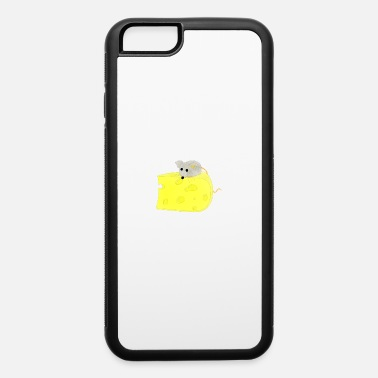Mouse Cartoon Mouse and Cheese - iPhone 6 Case