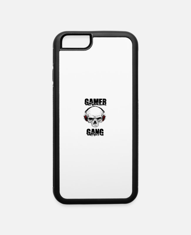 GamerGang iPhone Cases - Phone Case - iPhone 6 Case white/black