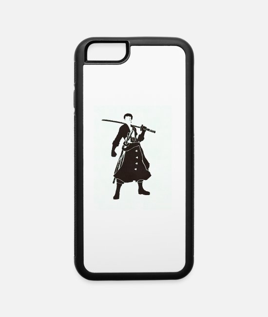 Sword iPhone Cases - zoro sword - iPhone 6 Case white/black
