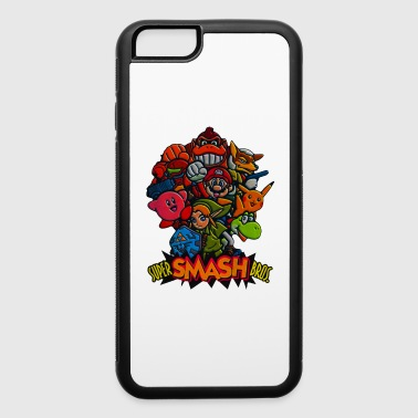 SMASH BROS - iPhone 6/6s Rubber Case