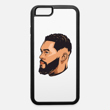 Model Men Beard Hair Hairstyle Barber Fashion Model Hair - iPhone 6/6s Rubber Case