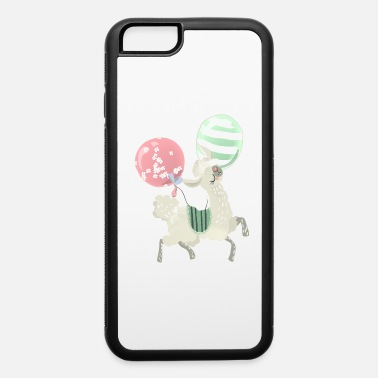 Alpaca llama,alpaca on tshirt - iPhone 6/6s Rubber Case