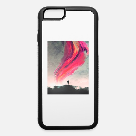 Skies iPhone Cases - scifi - iPhone 6 Case white/black