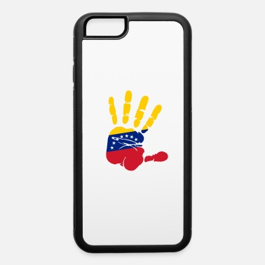 Bandera handprint with the flag of Venezuela - iPhone 6/6s Rubber Case