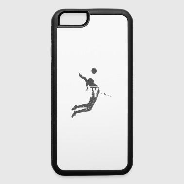 Badminton Volleyball Grundge Design - iPhone 6/6s Rubber Case