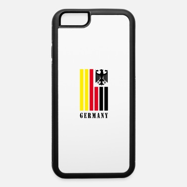 Frankfurt Germany Flag with Eagle / Present Gift - iPhone 6/6s Rubber Case
