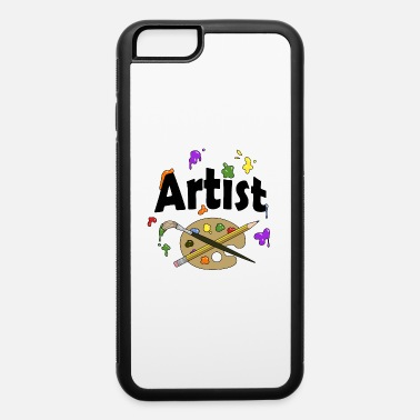 Artist, Light Background - iPhone 6 Case