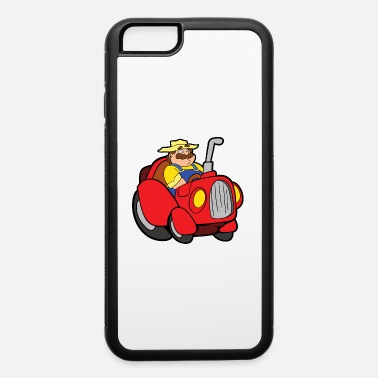 Fork Tractor Farmer - iPhone 6/6s Rubber Case