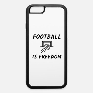 Pitch football goal game fun sport - iPhone 6/6s Rubber Case