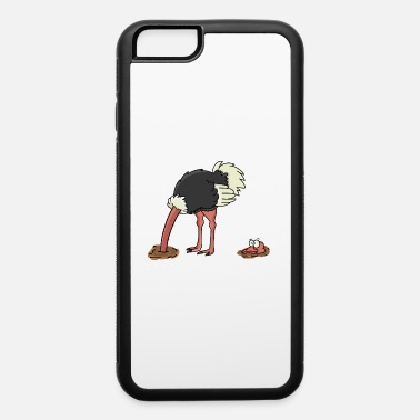Comic Ostrich - iPhone 6/6s Rubber Case