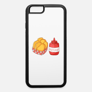 Beef French Fries Ketchup - iPhone 6/6s Rubber Case
