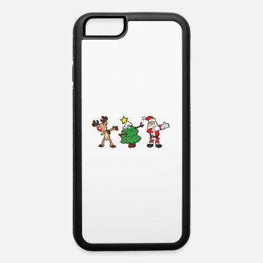 Winter Christmas Xmas - iPhone 6/6s Rubber Case