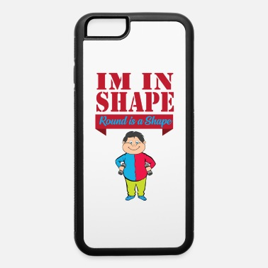 Belly Chubby Fitness In Shape Thick Round Cozy - iPhone 6 Case