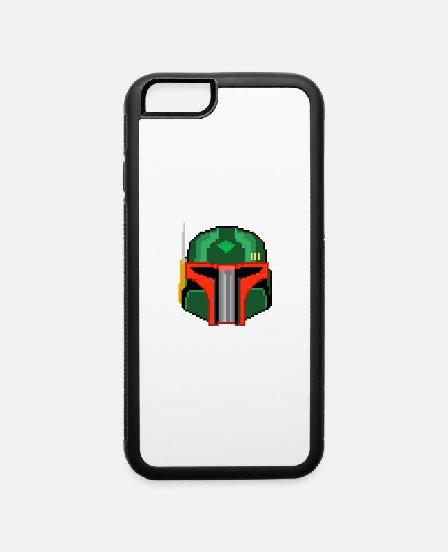 BOBA FETT STAR WARS iPhone Cases - boba - iPhone 6 Case white/black