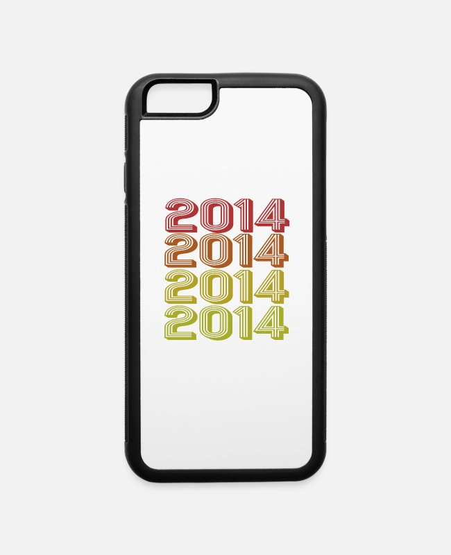 Awesome Since May 2014 iPhone Cases - Retro Born In 2014 - iPhone 6 Case white/black