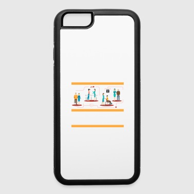 Physics Physical Therapist physically School Survivor - iPhone 6/6s Rubber Case