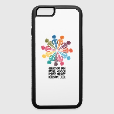 Stop racism - iPhone 6/6s Rubber Case