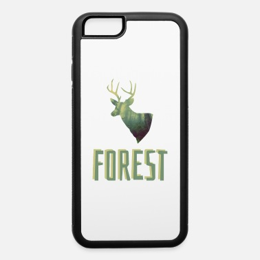 Search deer forest - iPhone 6/6s Rubber Case