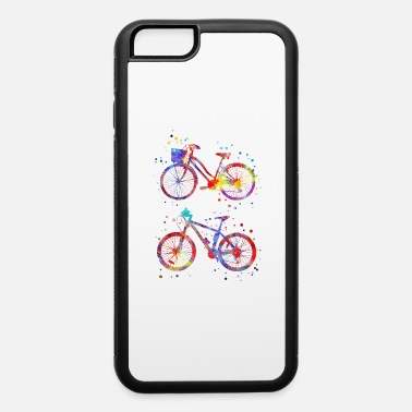 Bicycle Bicycles, watercolor bicycles - iPhone 6 Case