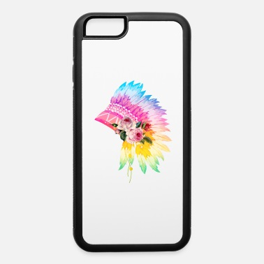 Headdress Floral Headdress - iPhone 6 Case