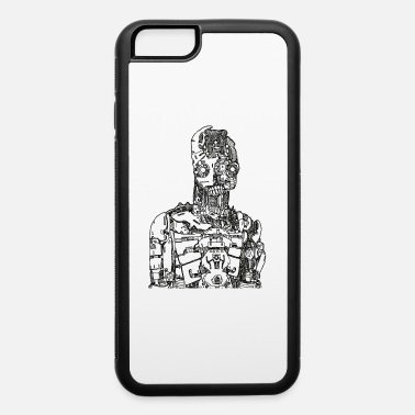 Android Robot Sketch - iPhone 6 Case