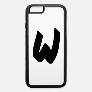 Initial W initial - iPhone 6 Case