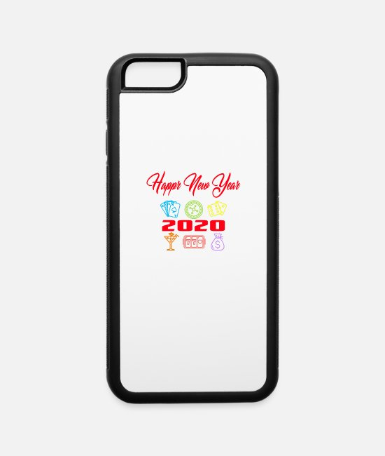 New World Order iPhone Cases - new year - iPhone 6 Case white/black