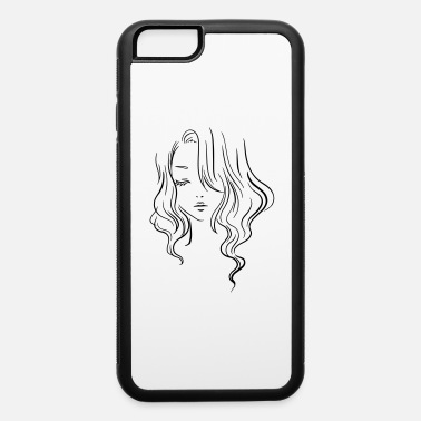 Girl Face drawing - iPhone 6 Case
