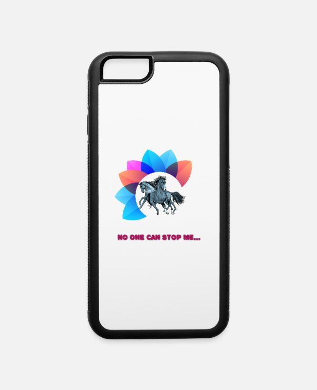 Can iPhone Cases - No one can stop me - iPhone 6 Case white/black