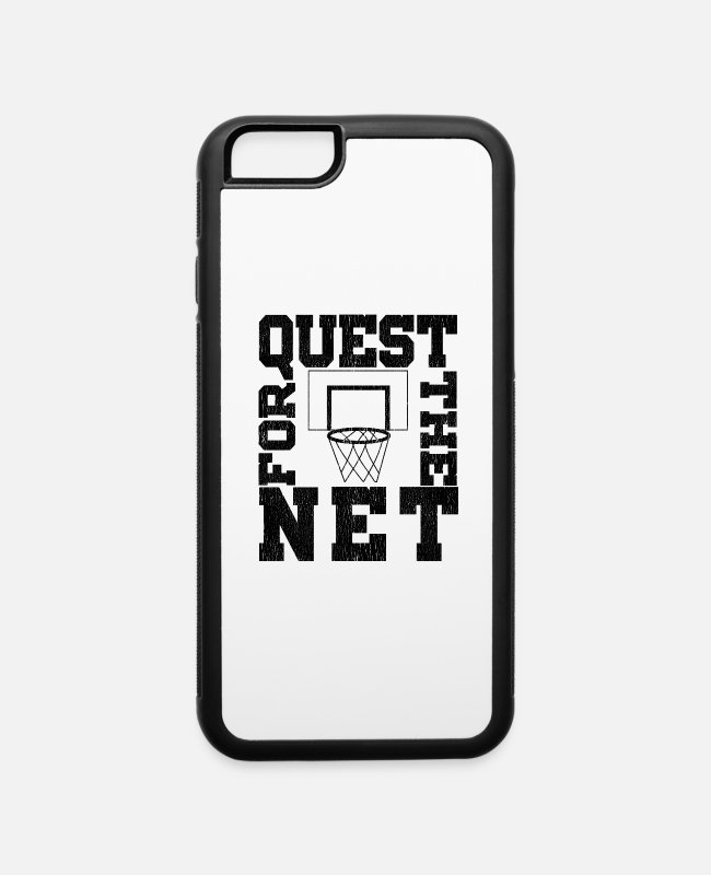 Sport iPhone Cases - Quest For The Net - iPhone 6 Case white/black