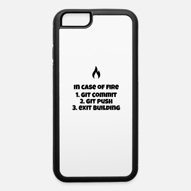 Code Git on Fire - iPhone 6 Case