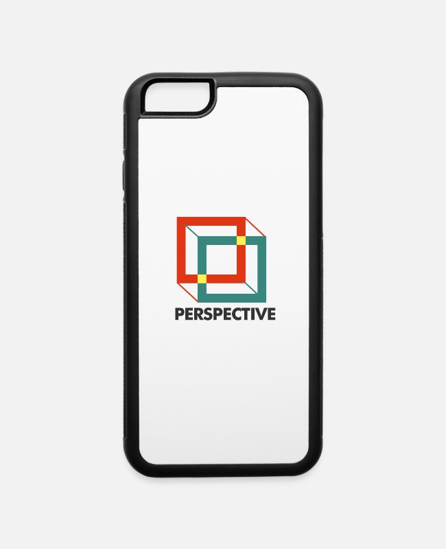 Change The Perspective iPhone Cases - Perspective - iPhone 6 Case white/black