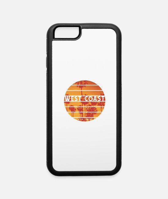 Water iPhone Cases - West Coast - iPhone 6 Case white/black