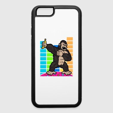 Musician Disco Party Music Dabbing Dab Gorilla - iPhone 6/6s Rubber Case