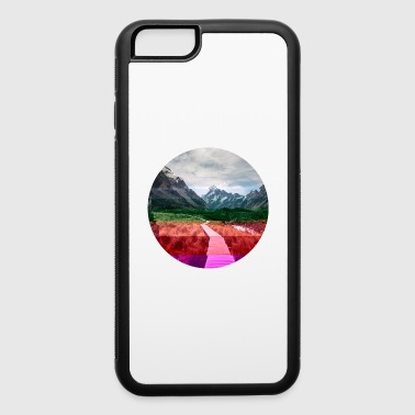 hiking path glitch - iPhone 6/6s Rubber Case