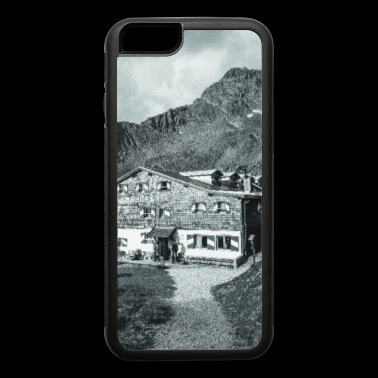 Innsbrucker Huette Black and White Photos - iPhone 6/6s Rubber Case