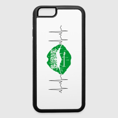 Saudi Arabia 2018 ECG Kiss Soccer World Champions - iPhone 6/6s Rubber Case