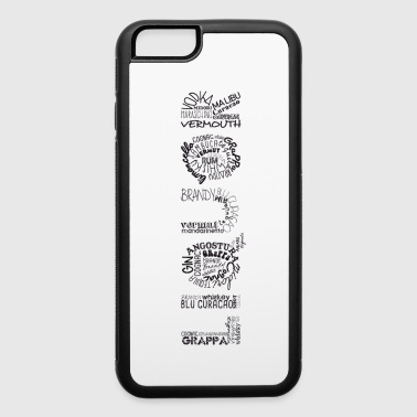 Liquor Tag Cloud - iPhone 6/6s Rubber Case
