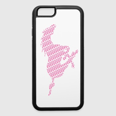 wILD HORSE PINK - iPhone 6/6s Rubber Case