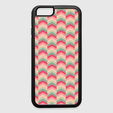 Colorful Arrow Pattern Case - iPhone 6/6s Rubber Case